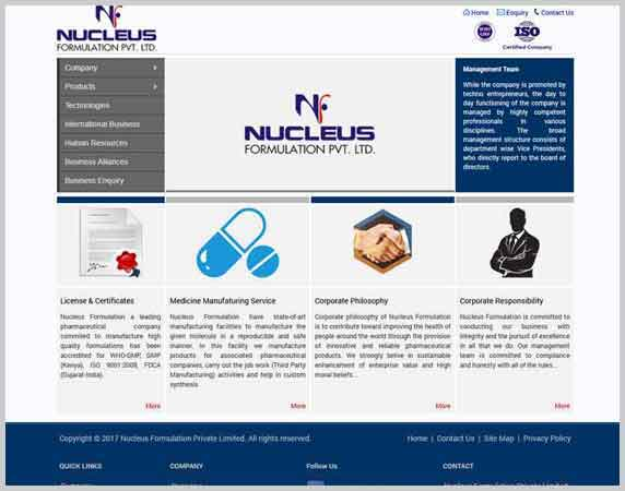 Nucleus Formulation Private Limited
